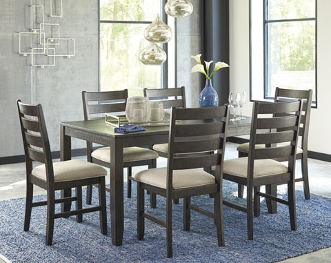 D397 425 Table Chairx6 Dining Set